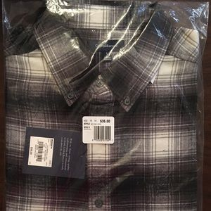 NEW Croft and Barrow Flannel Shirt Large